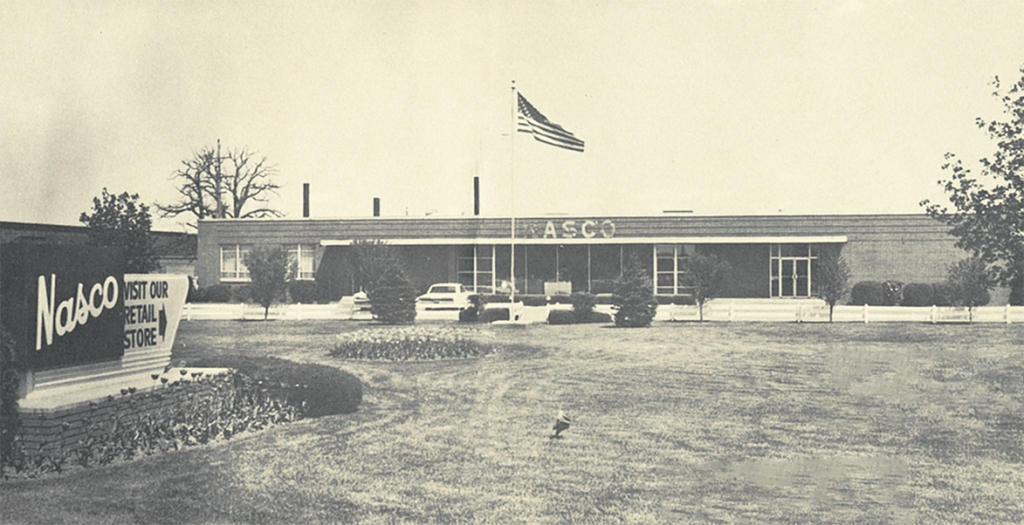 Nasco was founded in 1941 by vocational agricultural teacher, Norman Eckley.